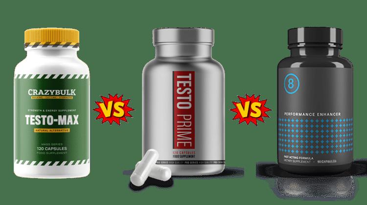 Testo Max vs Testo Prime vs Performer 8 Comparison guide by PBP Staff