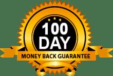 100 Days Money-Back Guarantee