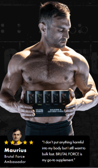 Brutal Force SARMS Alternative Endorsed by Maurius