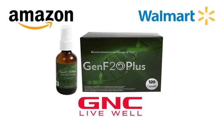 GenF20 Plus where to buy Amazon, GNC or Walmart?