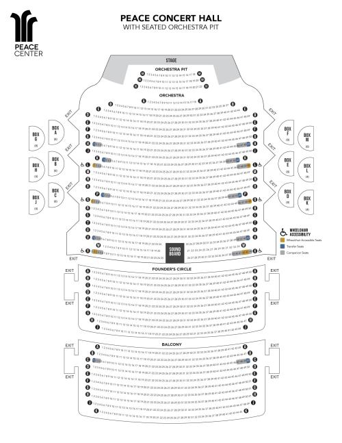 small resolution of view the peace concert hall seating chart