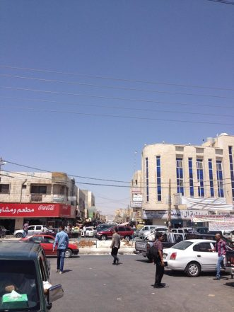 Downtown Mafraq. PC: Eddie Grove