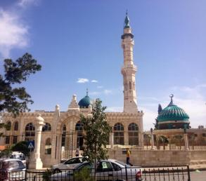 The Shariah College in Jabal Webdeh, Amman. The Jordanian government tries to monitor the content of mosque sermons closely. PC: Eddie Grove