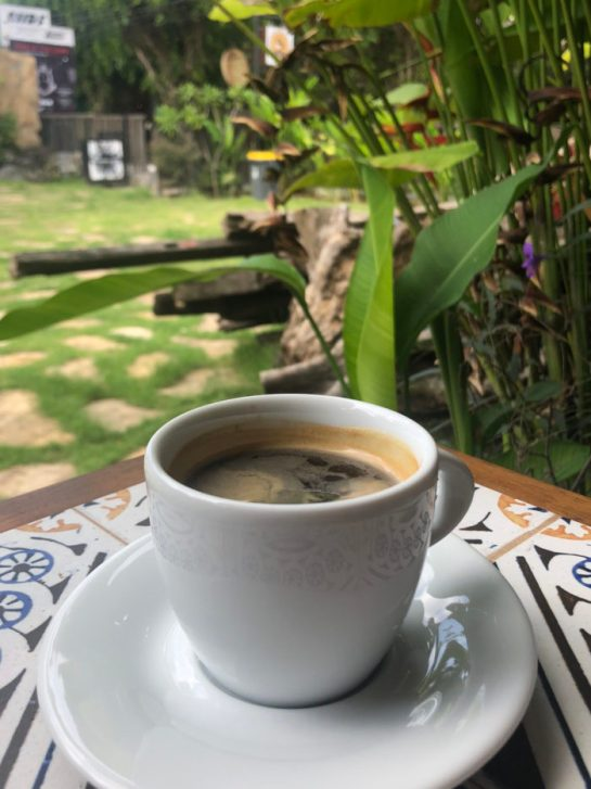 Coffee in Canggu Bali