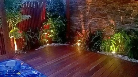 Tropical Garden Pool Surround Landscaping  Landscapers Sydney