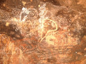 We can interpret the messages of the body - the answers don't have to remain a mystery. Uluru, Australia, 2005.