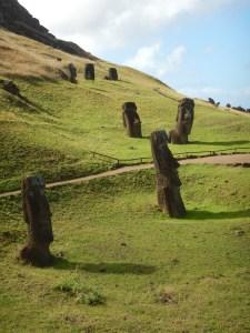 Moai at Quarry