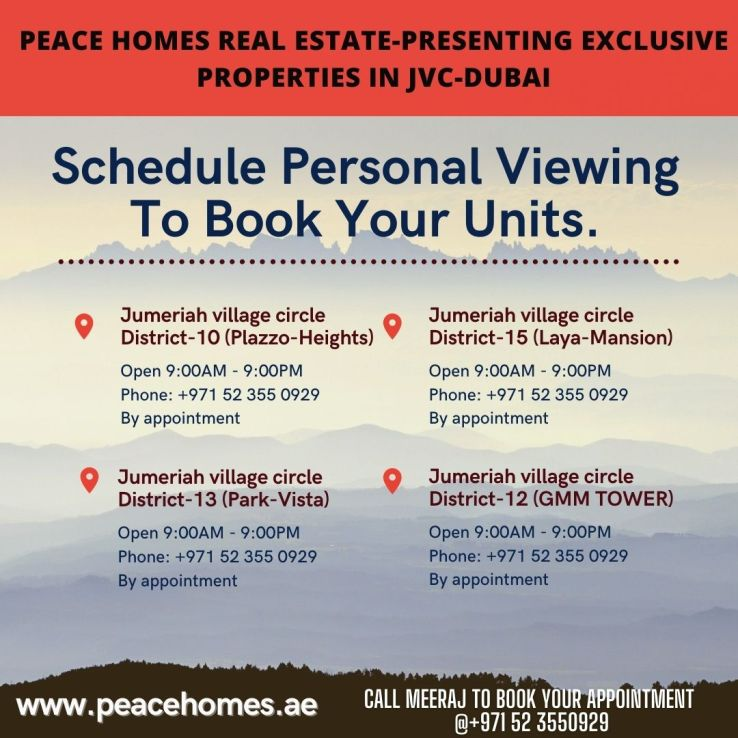 Latest Properties Launch By Peace Homes Real estate