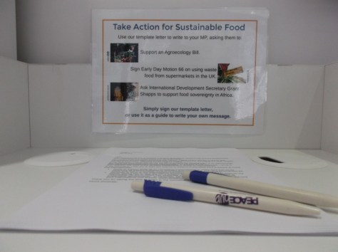 Write to your MP to support sustainable food.
