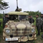 Immer im Einsatz: Dienstaufsicht beim Jagdkommando am 3. Mai 2011, zusammen mit Generalleutnant Mag. Günter Höfler.