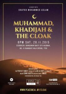 shaykh mohammed aslam muhammad khadijah cloak peace meal