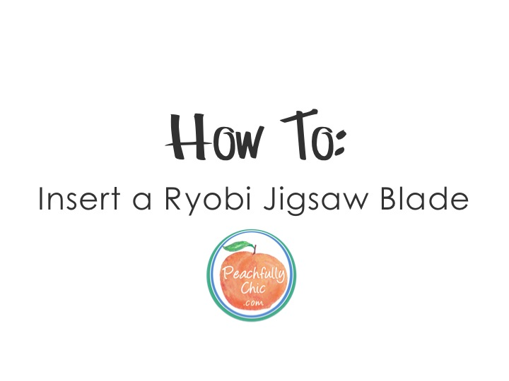 How to insert a ryobi jigsaw blade keyboard keysfo Gallery