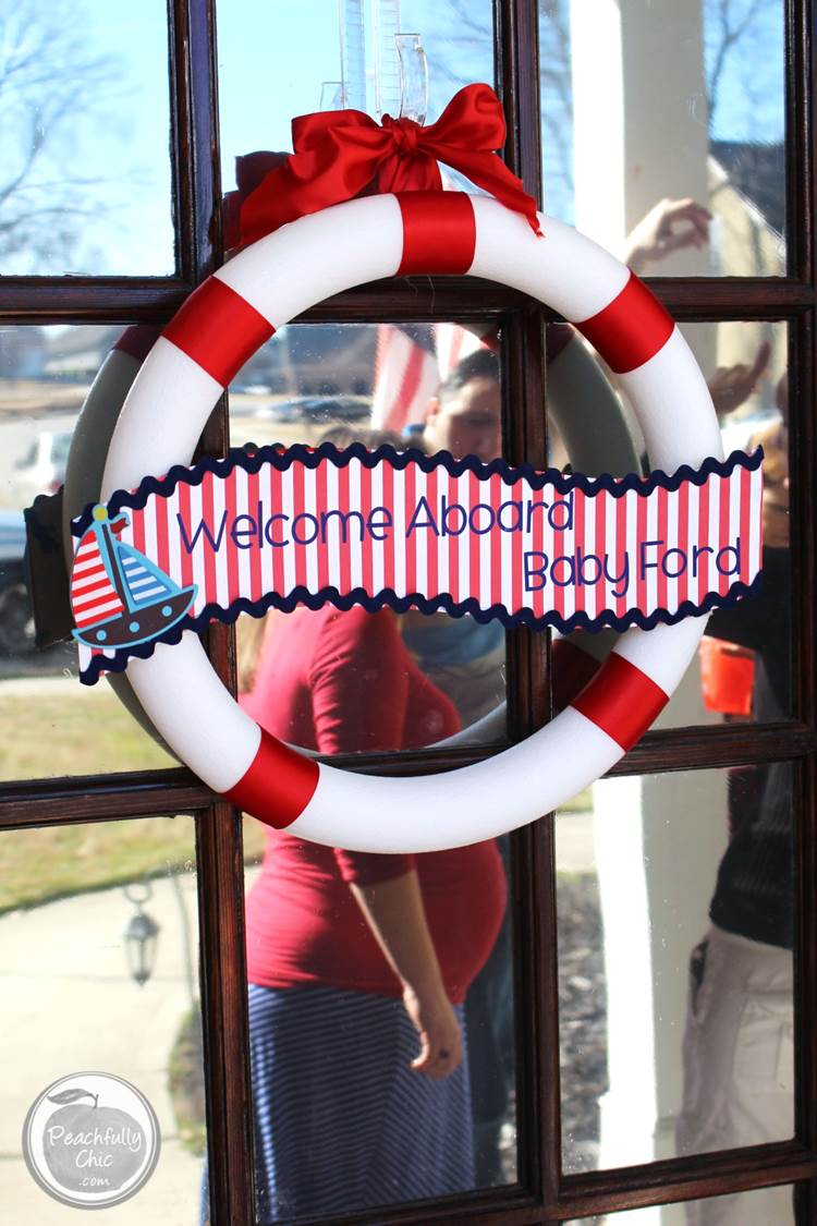 Nautical Baby Shower Ideas Peachfully Chic