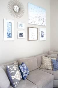 DIY Gallery Wall Art   Peachfully Chic