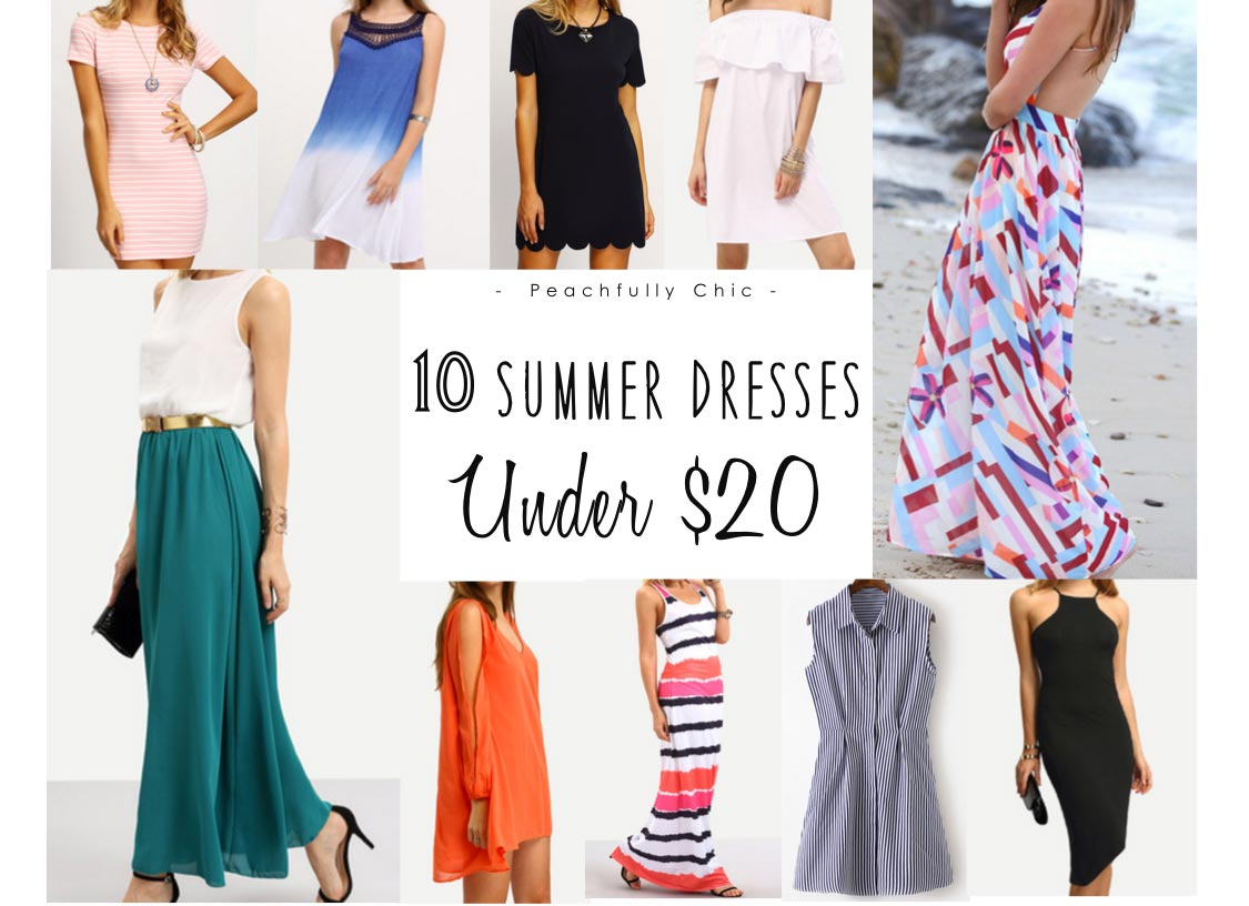 bce23c9b25 10 Summer Dresses Under  20