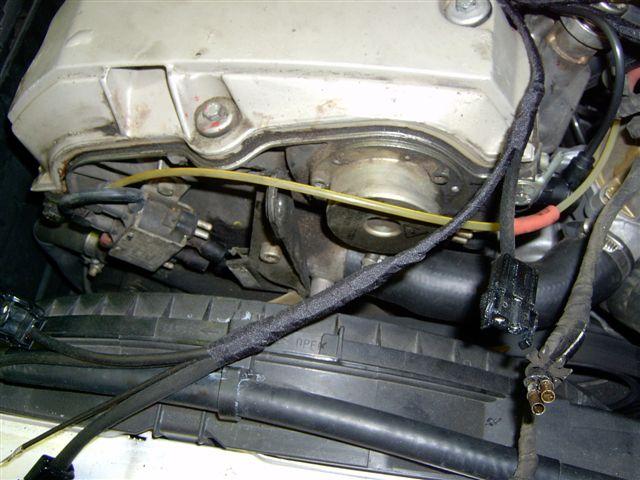 Peachpartswiki W124 Engine Wiring Harness Replacement