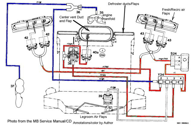 11 Pin Relay Base Wiring Diagram Peachpartswiki Center Vent Defroster Relationship