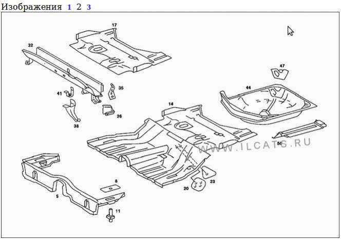 Mercedes w123 body repair panels