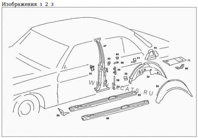 My W123 saloon / sedan old accident repair (and a bit of
