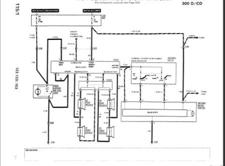 Mercedes speaker wiring