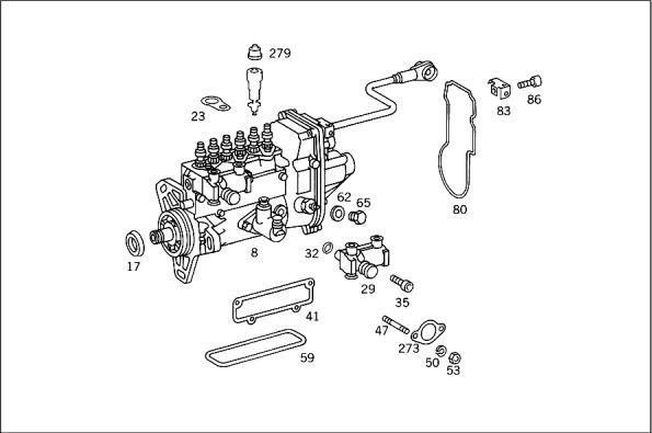 1999 Mercedes E300 Fuel Pump Shut Off Valve, 1999, Free