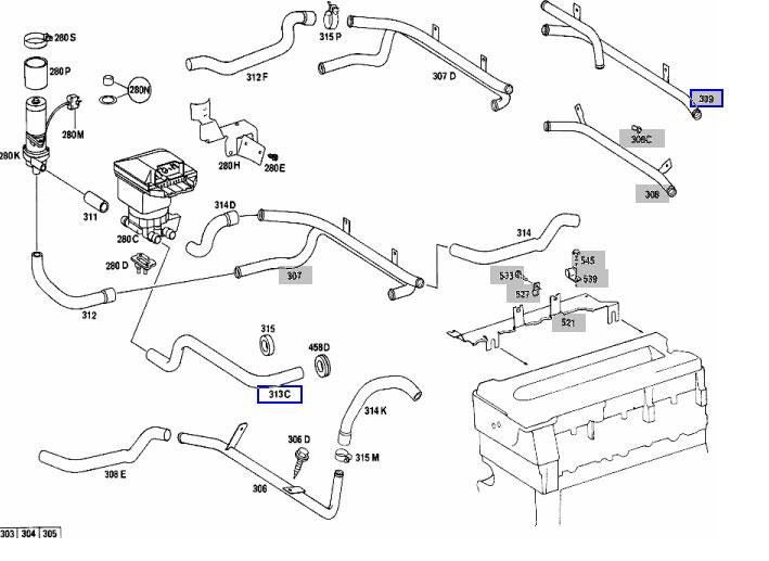 mercedes w126 fuse box