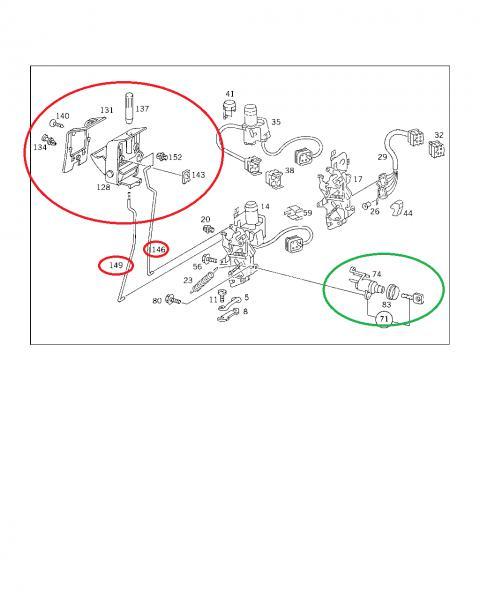 om603 3.5 3.0 swap 350sdl transmission question