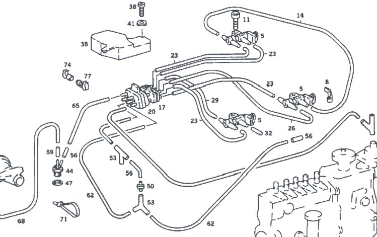 Mercedes 300sd Fuse Box Mercedes 280SL Wiring Diagram