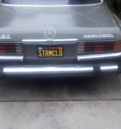 inroducing stormcloud 79 w116 300sd new license plate stormcloud [ 1500 x 1125 Pixel ]