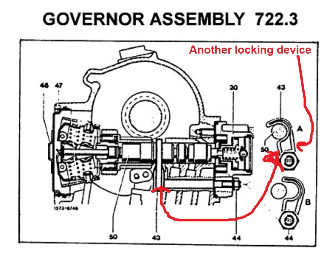 How to diagnose governor problems? Parts? 722.3xx