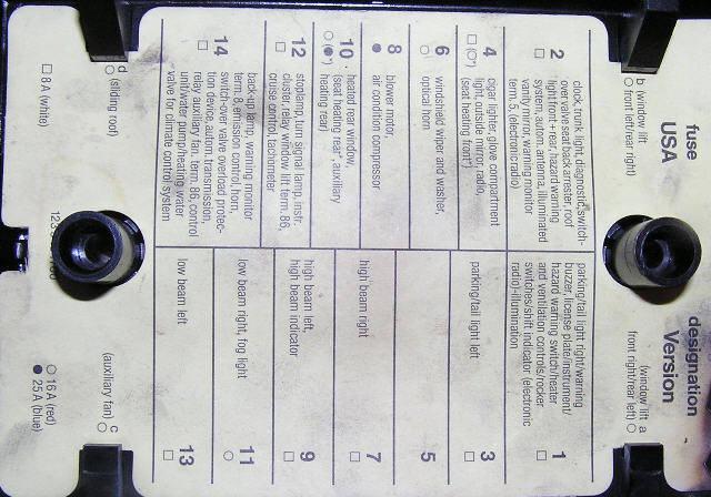 83 280zx Fuse Box Diagram