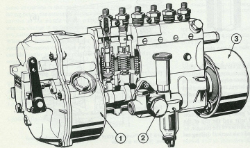 famous bosch diesel injection pump diagram