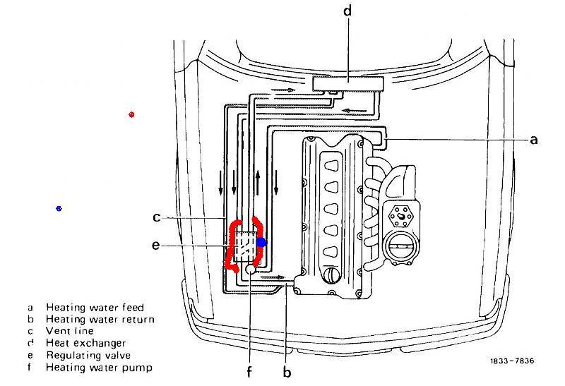 1980 mercedes 450sl vacuum diagram