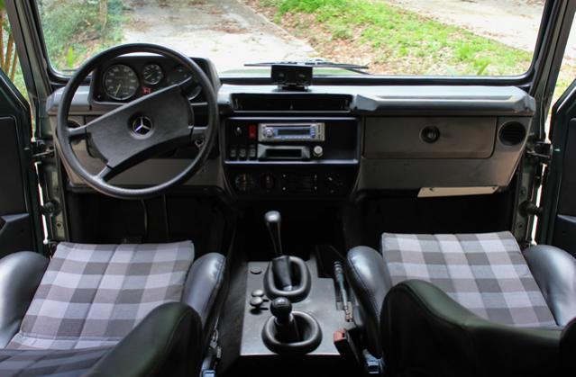 1989 300GD Gelandewagen  Late model  PeachParts Mercedes