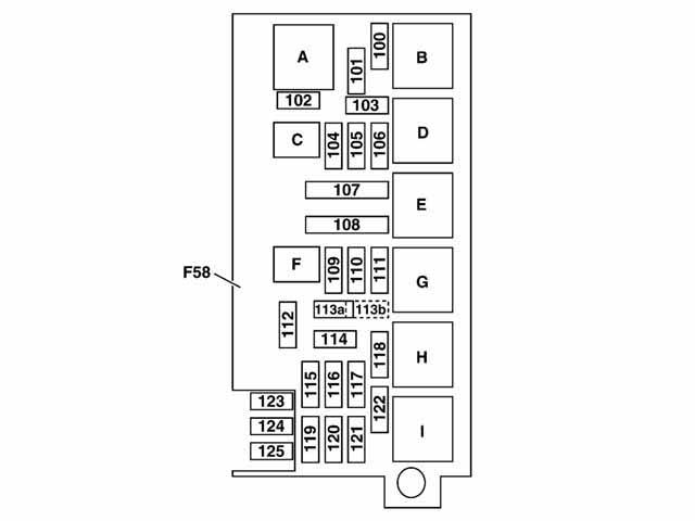 ml350 fuse box location