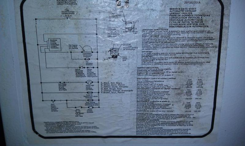 Whirlpool Freezer Wiring Diagram