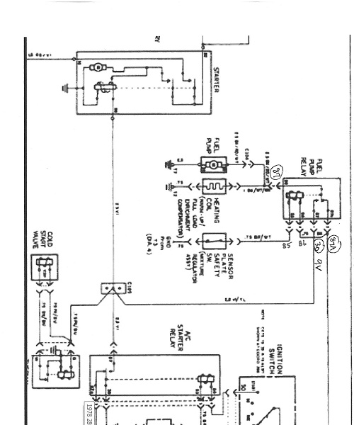 79 450sl Fuel Pump Relay Location Mercedes Benz Forum