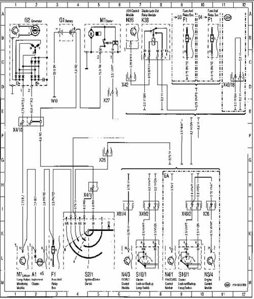1999 Mercedes Benz E320 Fuse Box Diagram