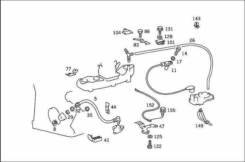 Antenna Rotor Wiring Diagram 190e Crank Position Sensor Replacement Peachparts