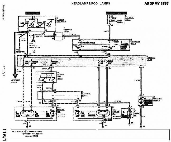 Radio Wiring Diagram For 1992 Mercedes 190e Mercedes