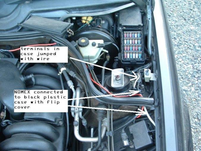 1999 e320 auxiliary fuse box diagram
