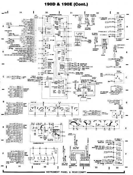 Wiring Diagram Mercedes W201. Wiring. Electrical Wiring