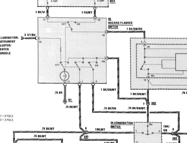 Mercedes W124 Ignition Switch Wiring Diagram - Somurich.com