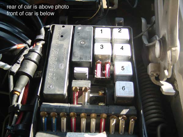 Fuse Box Diagram Mercedes Benz 420 Sel 1990 Mercedes Fuse Box