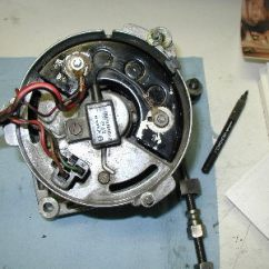 Bosch K1 Alternator Wiring Diagram Sonos Speakers 6 Cylinder Engine Generator Conversion Peachparts Mbz 230 Modification