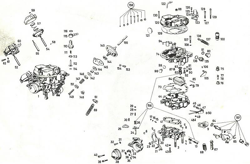 Mercedes inat carburetor synchronizers