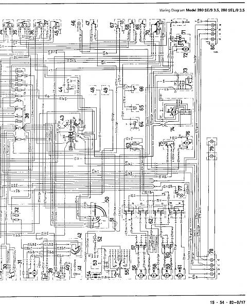 1972 Mercedes-Benz Wiring Diagrams