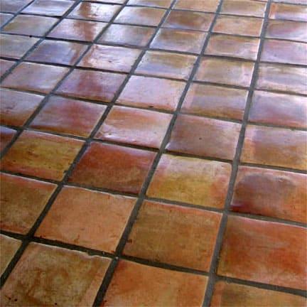mexican saltillo tile peachridge glass