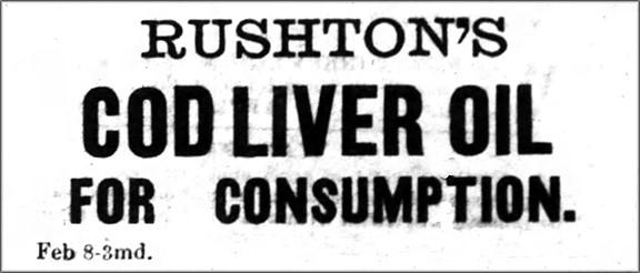 Rushton's Cod Liver Oil