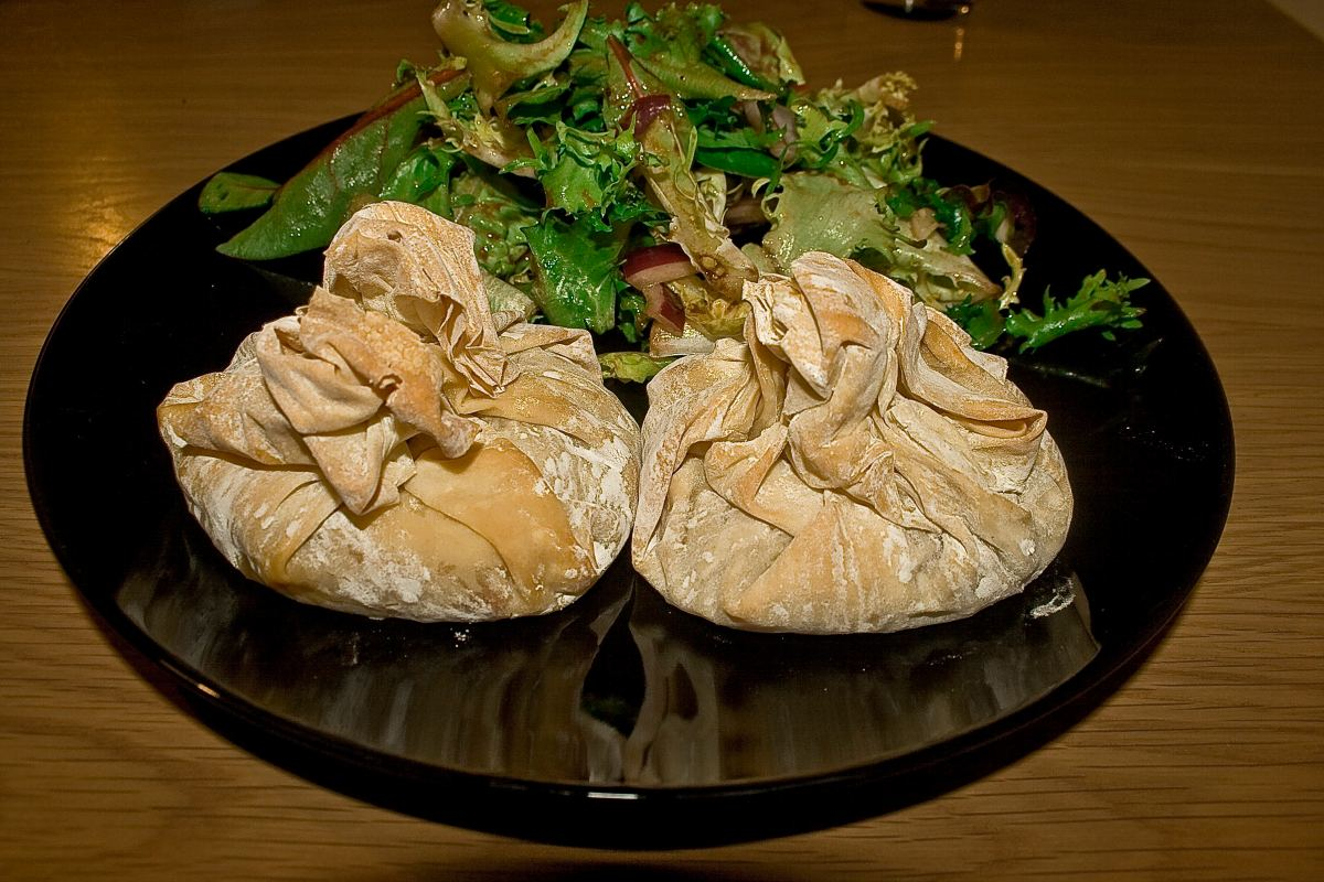 Filo Pizza Pockets